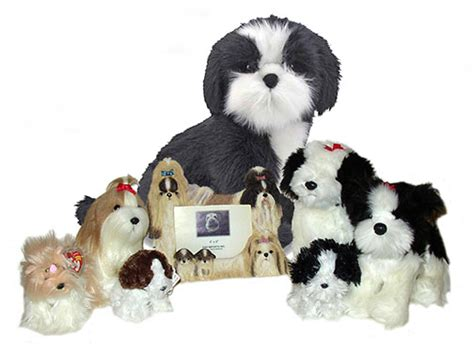 stuffed shih tzu find shih tzu stuffed animals facts and information at the kennel
