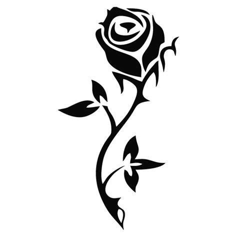 tribal black rose tattoo tattoos on askideas designs ideas and inspirations