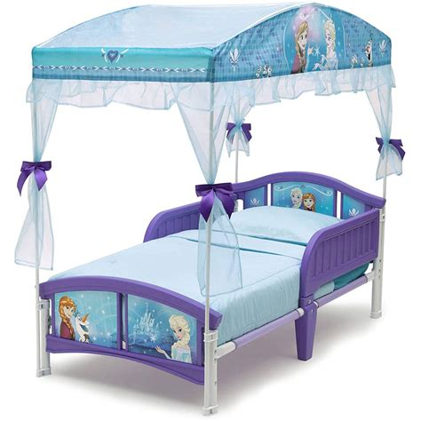 Frozen Toddler Bed With Canopy by Delta Children Canopy Toddler Bed Disney Frozen