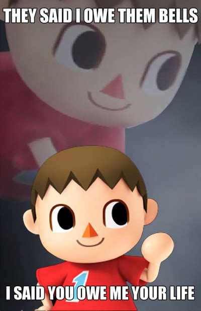 The Villager Meme - funniest smash bros villager memes smosh