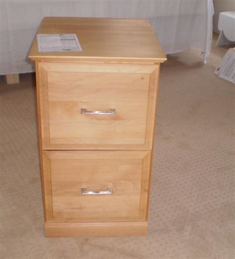 High Quality 2 Drawer Solid Wood Letter Size Filing Solid Wood File Cabinets 2 Drawer