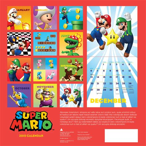 Calendario Kart 2015 Fan Fiction Competition Write A Mario Story To Win