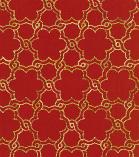 Hgtv Upholstery Fabric by Hgtv Home Upholstery Fabric Boho Lattice Emb Harvest