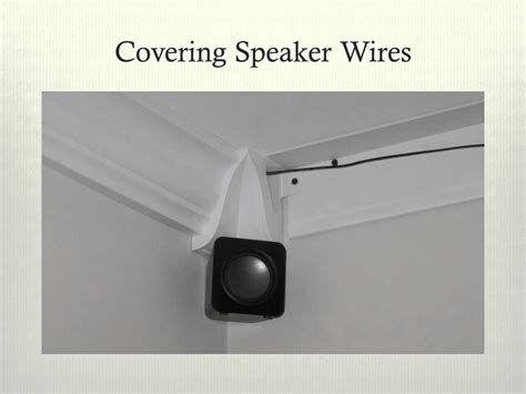rowlcrowns crown molding    hide wires