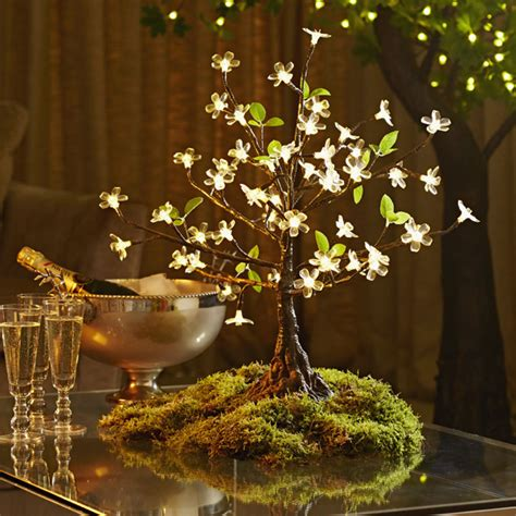 Hire Led Cherry Trees Twilight Trees Mini Lighted Trees