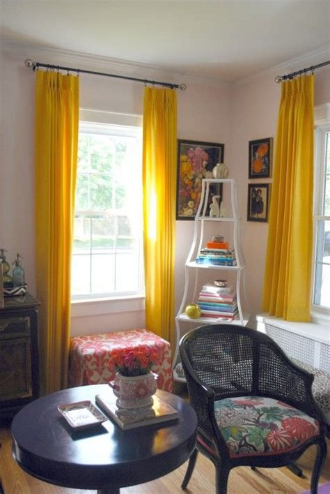 neon yellow curtains best 25 bold curtains ideas on pinterest