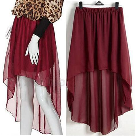 high low skirt from vintage vogue on storenvy