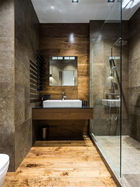 badezimmer holzfliesen apartment in st petersburg by pavel isaev on
