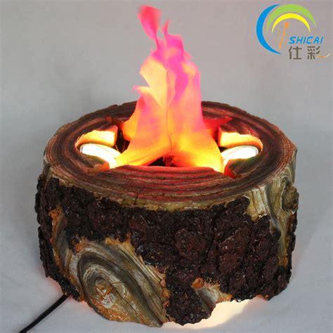 Stump Decorations Aliexpress Com Buy Indoor Campfire Stump Led Electric
