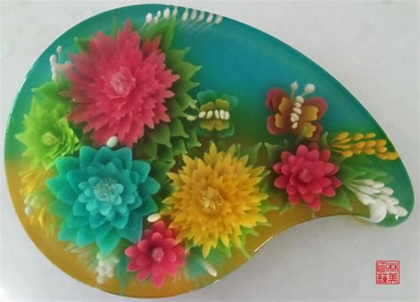 Ch Flower Jelly Mate yochana s cake delight 3d jelly class