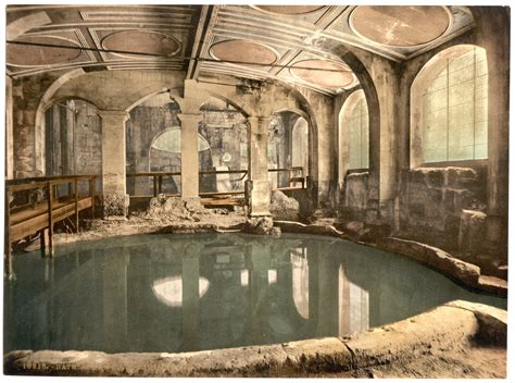 roman bathrooms file circular roman bath bath c1900 jpg wikimedia commons