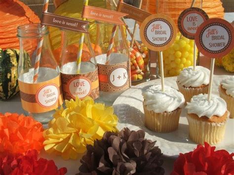 fall bridal shower decorating ideas 17 best images about bridal shower on wedding