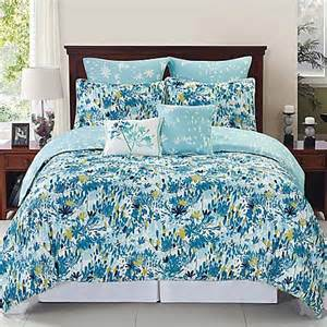 devon reversible comforter set in blue teal www