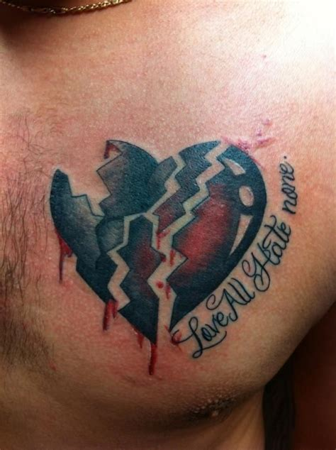 broken heart tattoos designs best 25 broken ideas on broken