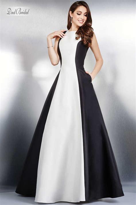 design dress black and white white and black satin dress bwdbw3243432