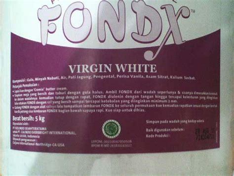 Harga Fondant Merk Fondx jual fondant atau plastic icing tokopastri