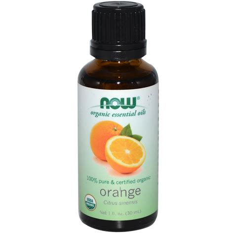Orange Essential Oils Now Food now foods organic essential oils orange 1 fl oz 30 ml