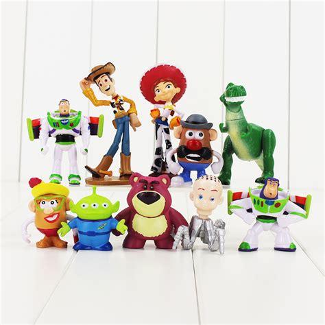 Celengan Story 7 Pcsset story buzz lightyear figure woody figures lot rex bullseye 10 doll ebay