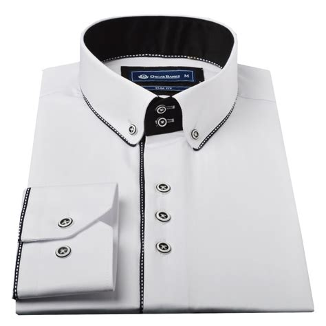 Black Dress Shirt Button Collar by White Shirt Black Buttons Mens South Park T Shirts
