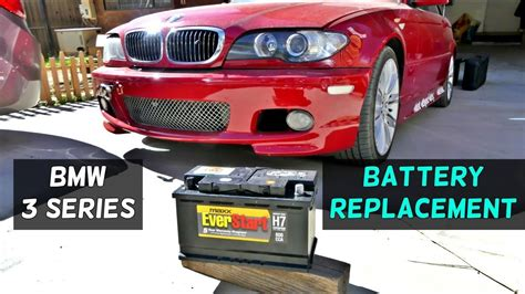 bmw e46 battery how to replace battery on bmw e46 316i 318i 320i 323i 325i