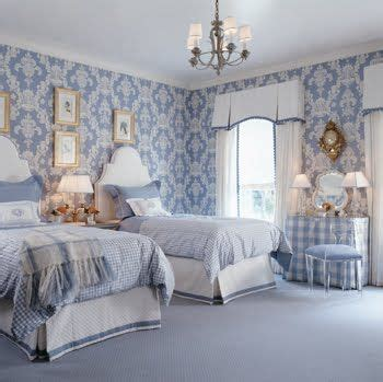 White Comforter With Blue Trim by Color Traditional With A Twist In Three Boldly Blue