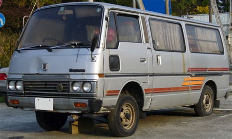 nissan urvan modification gallery nissan caravan vx modified