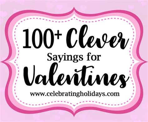 valentines sayings for clever sayings for and treat celebrating