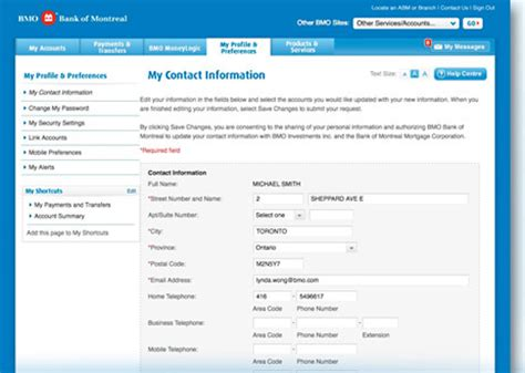 bank of montreal account bmo banking login