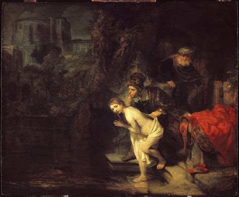 painting for elders susanna and the elders rembrandt wikiwand