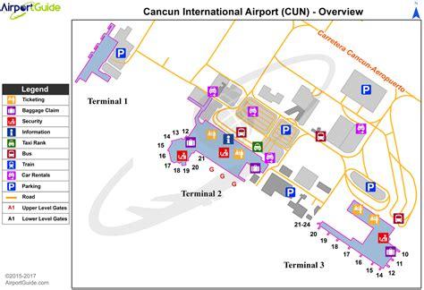 aeropuerto cun canc 250 n canc 250 n international cun airport terminal maps