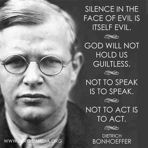 interrupting silence god s command to speak out books artistic quotes dietrich bonhoeffer quotesgram