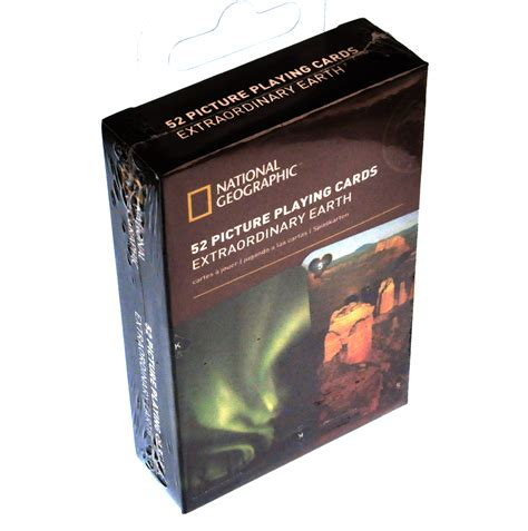 National Gift Card - extraordinary earth national geographic 52 picture playing cards pink cat shop