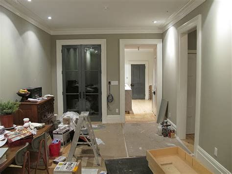 Modern country style colour study farrow and ball hardwick white