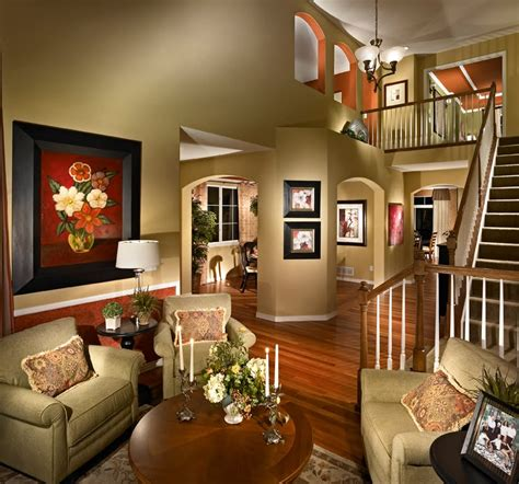 Decorate New Home by Decorated Model Homes Marceladick Com