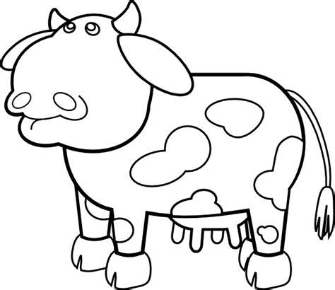 cow ears coloring page vaca dibujos online