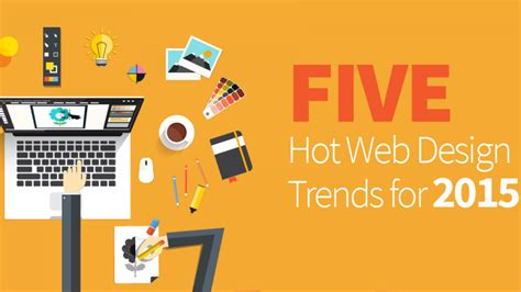 7 design trends from the last year with infographic five hot web design trends for 2015 levelten dallas tx