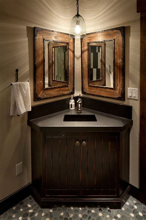 impressive ideas  rustic bathroom vanity home