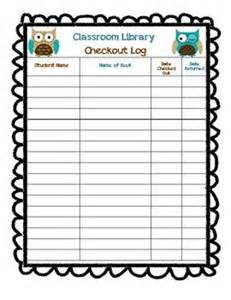 library checkout template 1000 ideas about classroom library checkout on