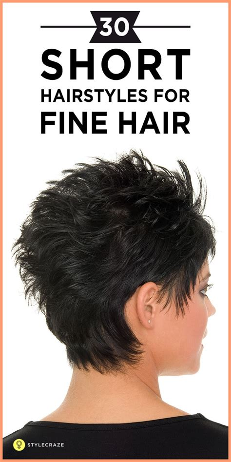 haircut tips for thin hair 30 short hairstyles for fine hair fine hair thin hair