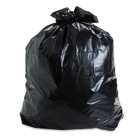 P Da Bag heavy duty black garbage bag on search