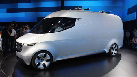 concept van mercedes vision van concept marks renewed focus on