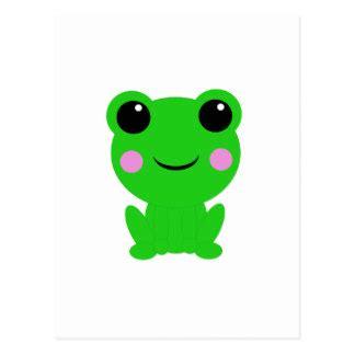 imagenes de ranas kawaii postales rana de kawaii tarjetas postales zazzle es
