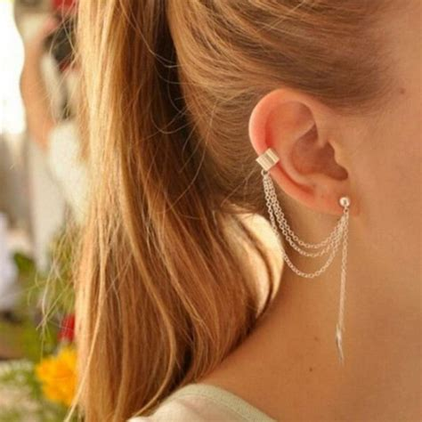 Weight Your Apples2apple Simple And Stylish by Best 25 Chain Earrings Ideas On Dainty