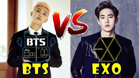 Bts Vs Exo | bts vs exo 2016 youtube