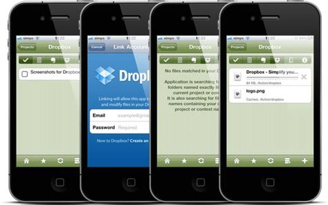 dropbox iphone how to use dropbox on your iphone scaranodesigns com
