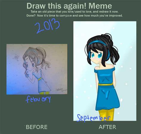 Draw This Again Meme Blank - draw again meme by llamasrock123456 on deviantart