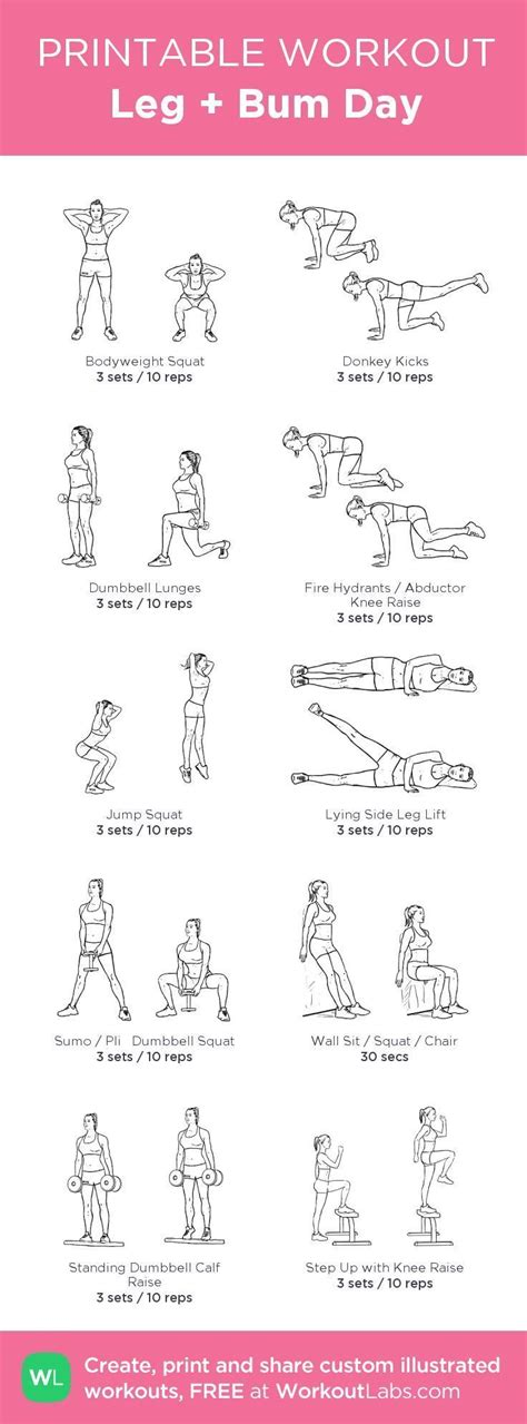 best 25 leg day workouts ideas on