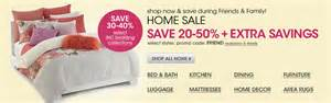 Shop now and save during friends and family home sale save 20 to 50