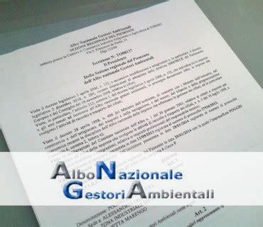 commercio albo gestori ambientali autorizzazione e certificazioni poggio metalli