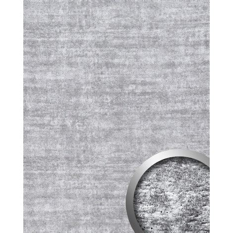 rivestimento murale interno pannello per interni effetto calcestruzzo grigio wallface